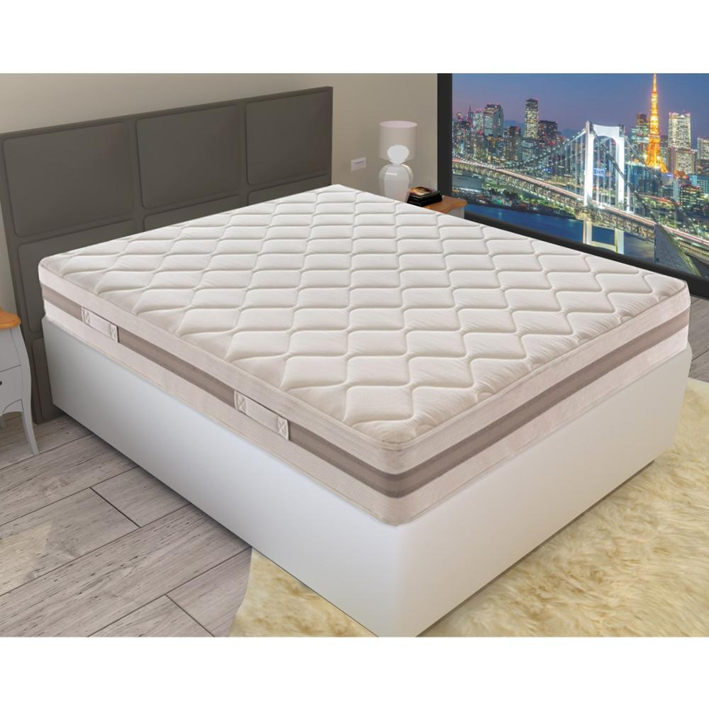 colchón simple o doble en espuma de agua - altura 21 cm - 11 zonas de confort - 100% hecho en Italia