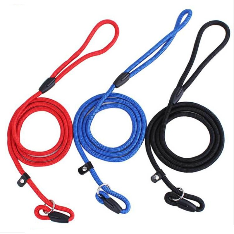 Dog Leashes Nylon Puppy Leashes Pet Training Leads Collar Big Dogs Cats Leash Dogs Accessory