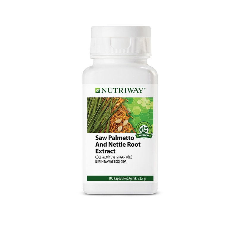 Saw Palmetto and Nettle root NUTRIWAY™ 100 Capsules