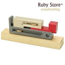 Ajusteur de fente Kerfmaker, coupe de bosquet et Dado ajustant le gabarit, scie à Table, travail du bois de Table de routeur, HONGDUI