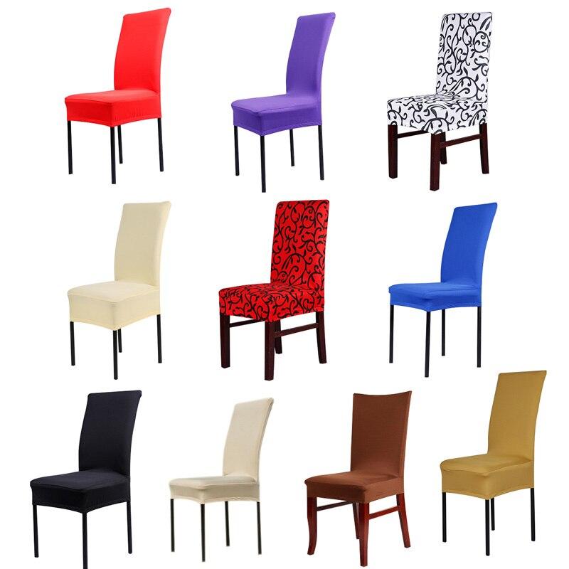 新しいカーシートカバーウォータープルーフファッション多色オプションのソフト契約ホテルホーム弾性椅子カバー結婚式のため Party21