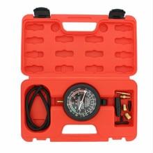 Gezamenlijke Cilinder Manometer Auto Brandstofpomp Vacuüm Tester Gauge Lek Carburateur Druk Diagnostiek Met Case Auto-styling