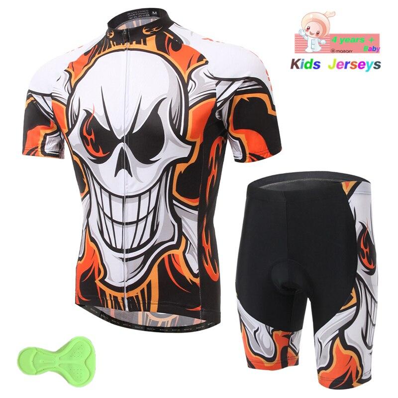 Camiseta de ciclismo para niños 2019 Pro Team Boys Mtb Motocross triatlón ciclismo Jersey trajes niños bicicleta ropa bicicleta ciclismo Kit