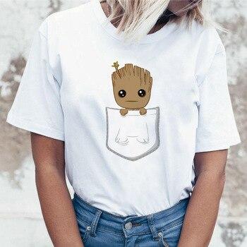 Japan Tee Anime 2019 Top Colorful Ritual Hippie Women Anime T-shirt Female Art Streetwear Psychedelic T Shirt Tshirt Plus Size