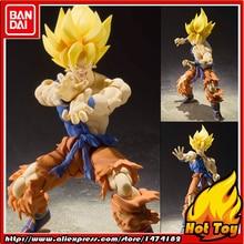 "Oryginalna figurka BANDAI Tamashii Nations S.H.Figuarts (SHF)-Super Saiyan Son Goku Warrior przebudzenie Ver. ""Dragon Ball Z"""
