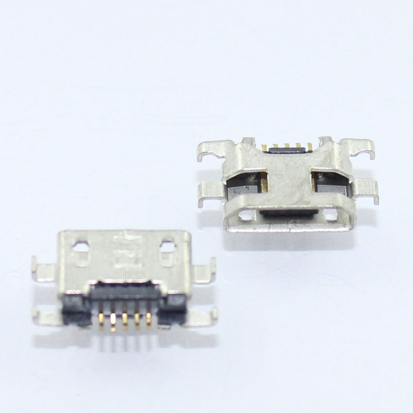 Cltgxdd 100 unids/lote Micro USB Jack 5 P conector hembra 5 Pin...