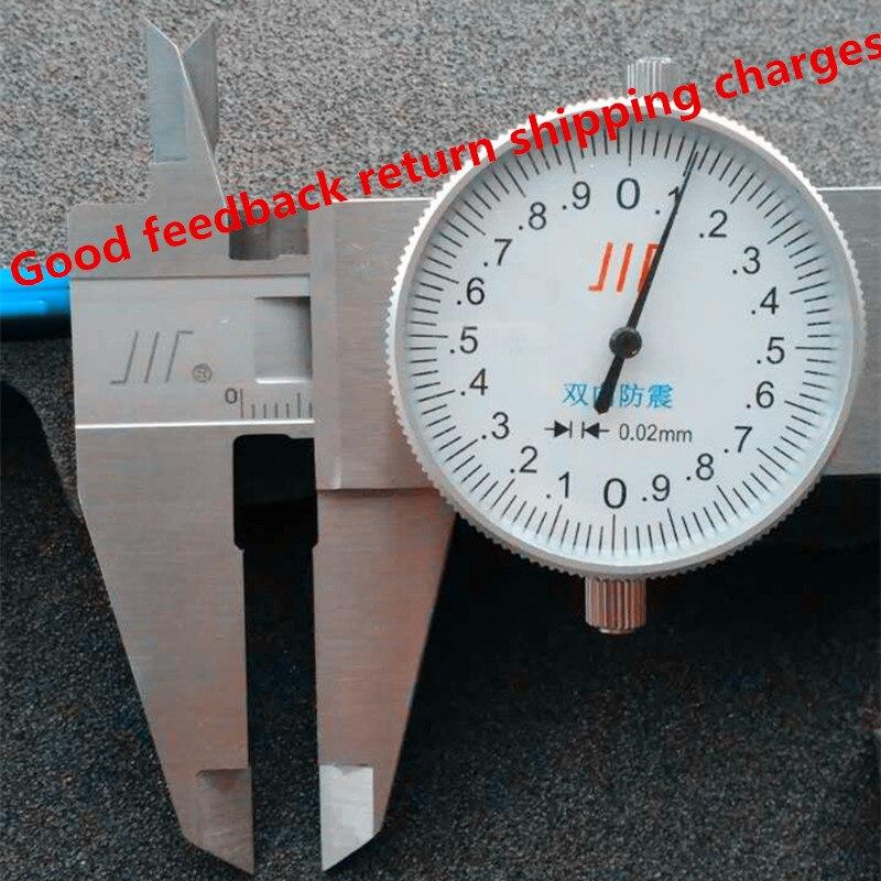 Calibrador de precisión de acero inoxidable de 0-150mm, regla de calibrador deslizante, herramienta de medición de calibrador vernier