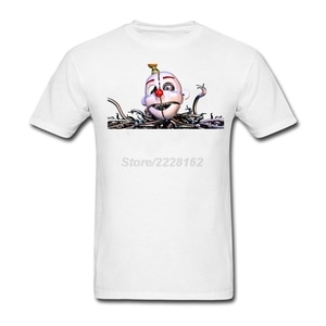 Ennard Jumpscare tshirt music tour maker for man Round Neck Mens T Shirts Fabric 80s jumpscare Game Costumes