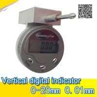 0-20 mm Guanglu new vertical type digital indicator 0.01 mm digital dial indicator