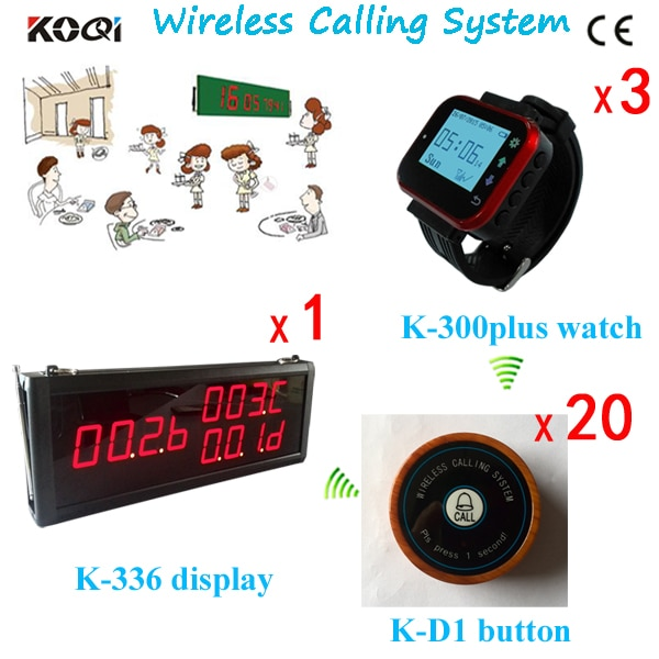 Ycall Waterproof waiter service calling button , table call button for restaurant ,cafe ,tea house, hotel