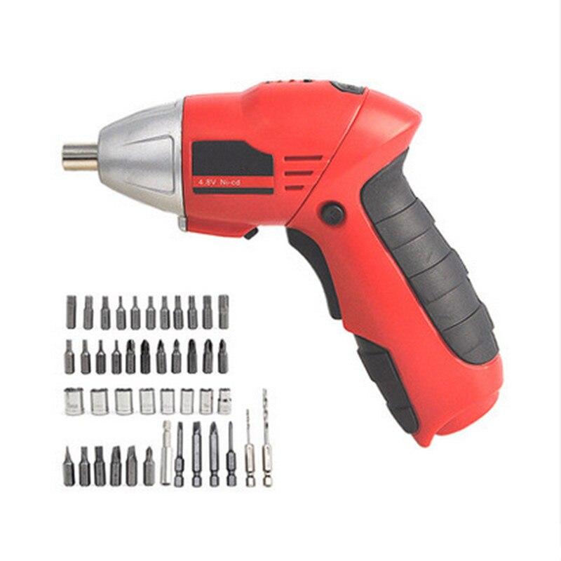 Destornillador inalámbrico multifunción, Mini taladro eléctrico recargable, herramientas eléctricas, desstornillador eléctrico
