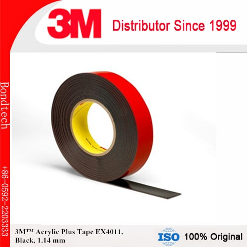 شريط تركيب خارجي قوي 3 م EX4011 ، أسود ، 45 مل ، 10 مللي متر × 36 ياردة