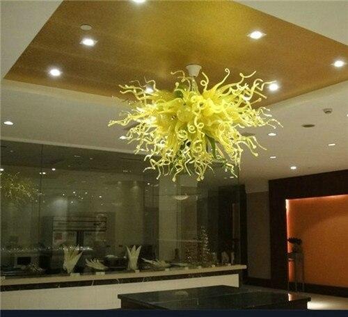 ثريا كريستال LED على الطراز التركي ، تصميم جيد ، موفر للطاقة ، زجاج منفوخ ، أخضر ، ذكي ، جميل ، للديكور الفني