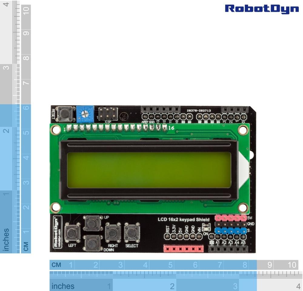 LCD tastatur Schild, 1602 display, für Arduino LCD Schild GRÜN BILDSCHIRM