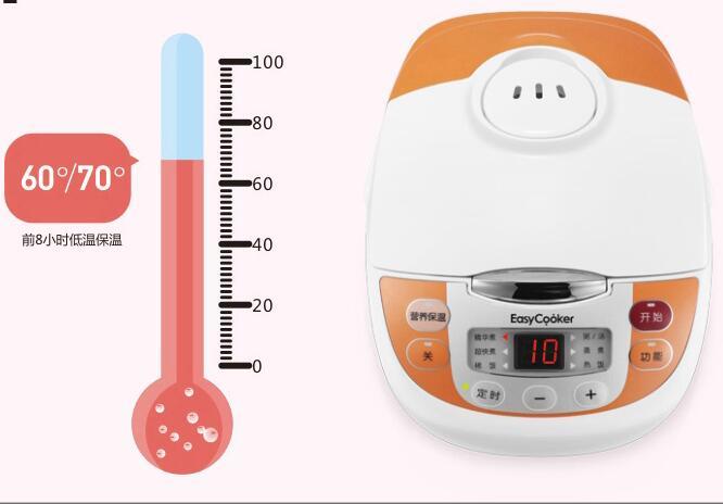 الصين قوانغدونغ ميديا الكهربائية الأرز طباخ EasyCooker EB-30FS01 الأرز طباخ 3L 110-220-240v