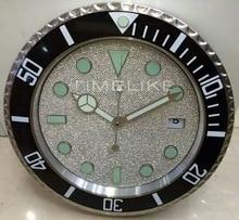 Grande montre murale de luxe en forme de diamant   Horloge en forme de diamant avec visage dhorloge en forme de diamant
