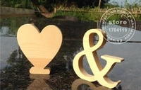 standing height 10cm wood letter wooden letters for decorations wedding decorations home decorations brithday party gift