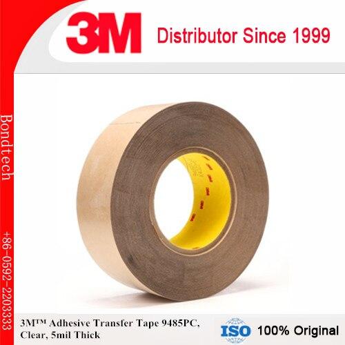 شريط نقل لاصق 3m ، شفاف ، 5 مل ، 3 × 60 ياردة 5 مل (عبوة من 1) ، 9485 قطعة