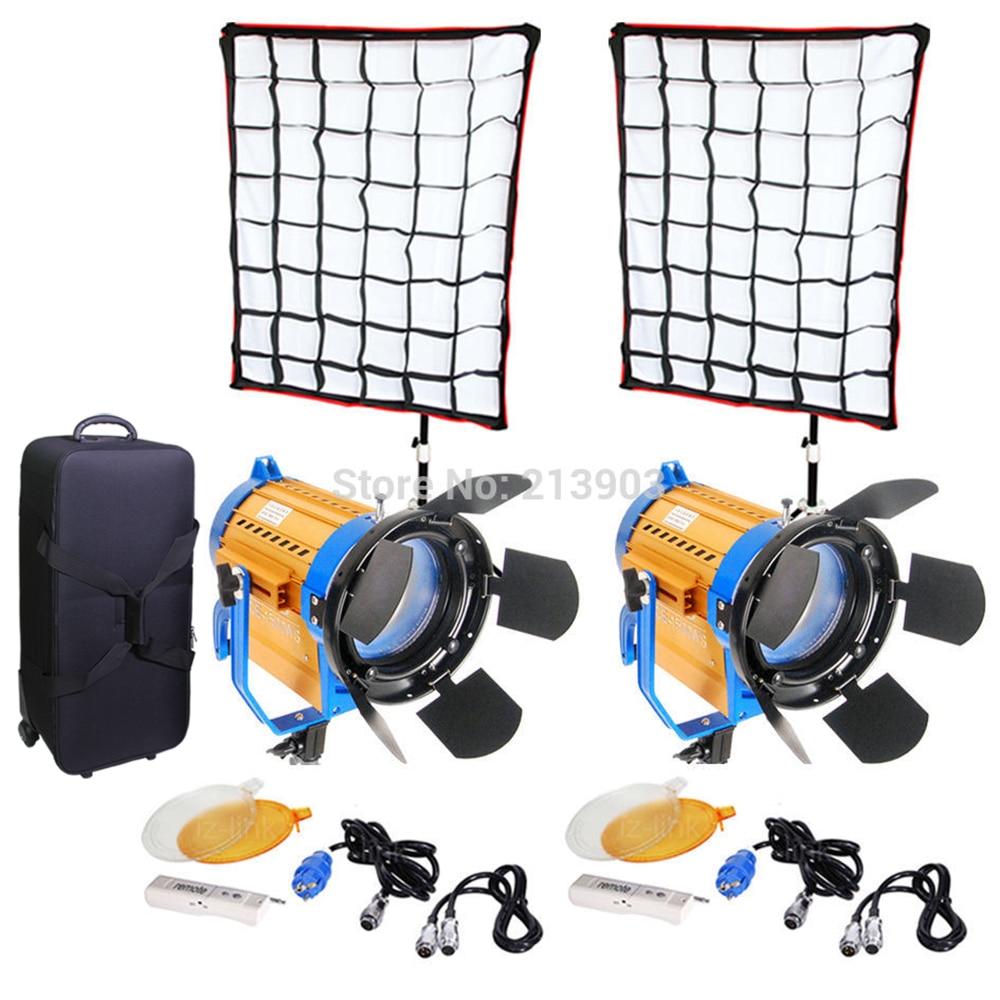 AULUMOTECH remoto inalámbrico bicolor LED 150W * 2 uds + Softbox * 2 uds + soporte * 2 uds + Kit de iluminación LED para estudio de fotografía y vídeo