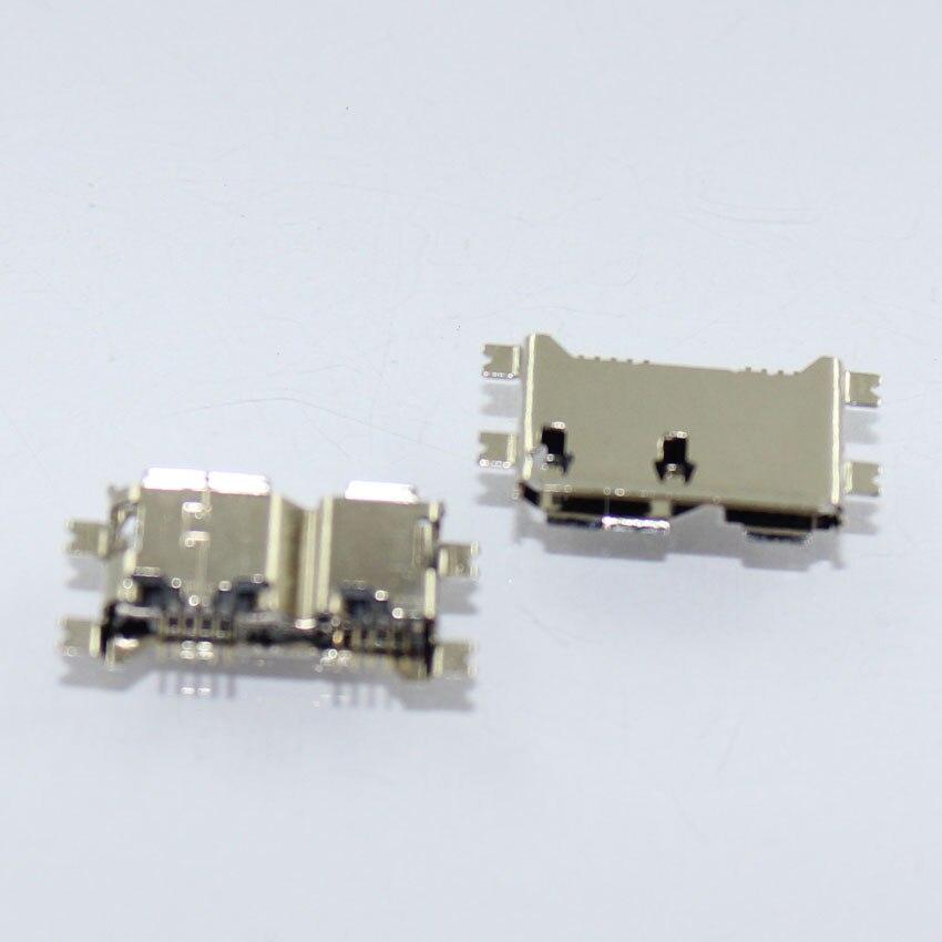 Teléfono 10 uds/lote, HDD ampliamente usando Micro USB 3,0 conectores enchufe, SMD conector Tablet PC puntas de boca recta conector tipo B