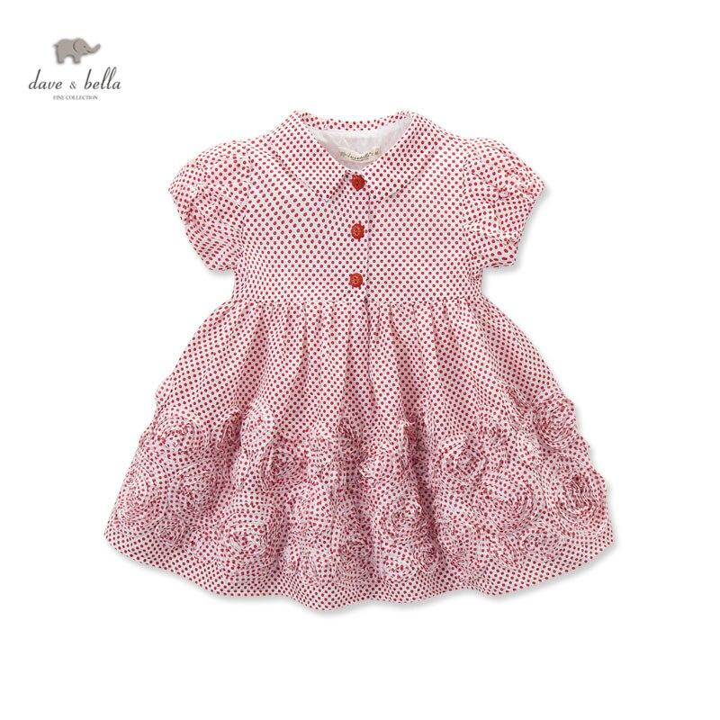 DB3279 dave bella летнее платье принцессы в винтажном стиле для маленьких девочек, платье в стиле ретро, детская одежда на день рождения, детские костюмы children costume princess dressprincess style dress   АлиЭкспресс