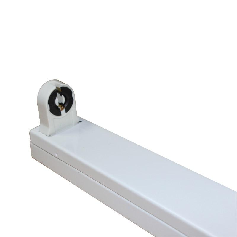 Soporte de tubo LED t8 de 1200mm de alta calidad, accesorio de tubo led, Base T8, Fedex envío gratis, 20 unids/lote