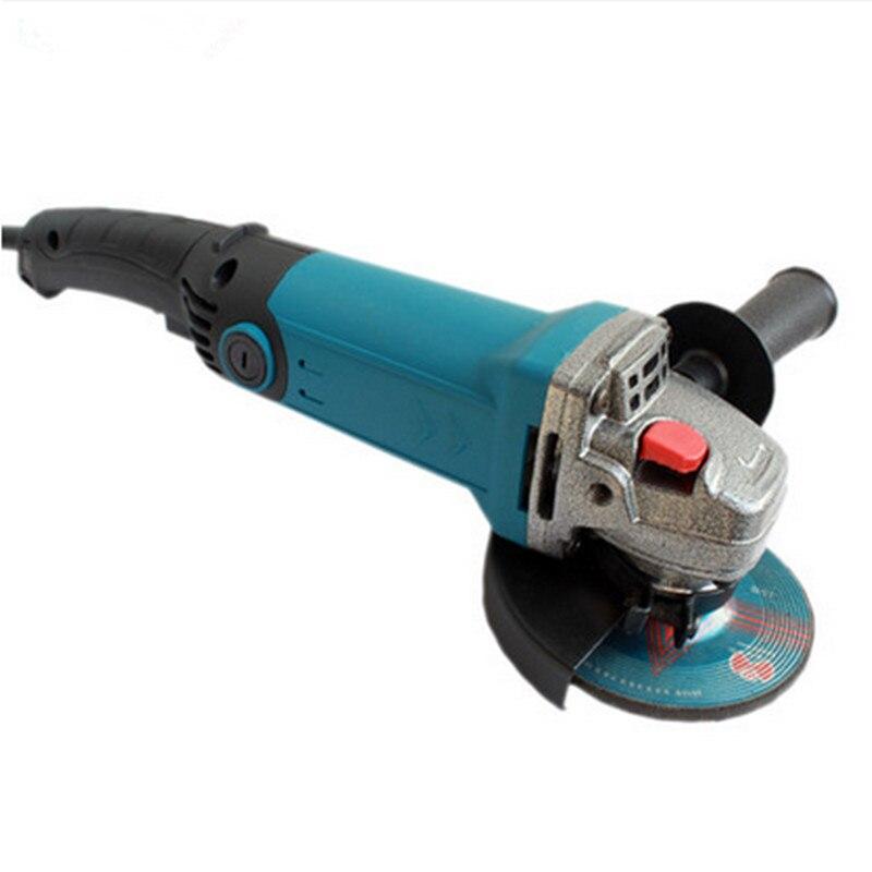 Pulidora eléctrica de 880 W, amoladora rotativa de ángulo, lijadora, pulidora de Politriz, Lixadeira, conjunto de accesorios, pulidora de pulido