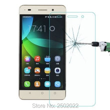 0.3mm Transparent Shield 2.5D Anti-Scratch Tempered Glass Screen Protector Film for Huawei G Play Mi