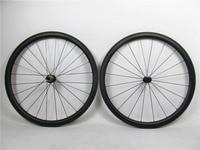 700C Toray carbon road bike wheels 38mm x 25mm wide carbon racing bicycle wheel with Basalt braking & High-temp resin