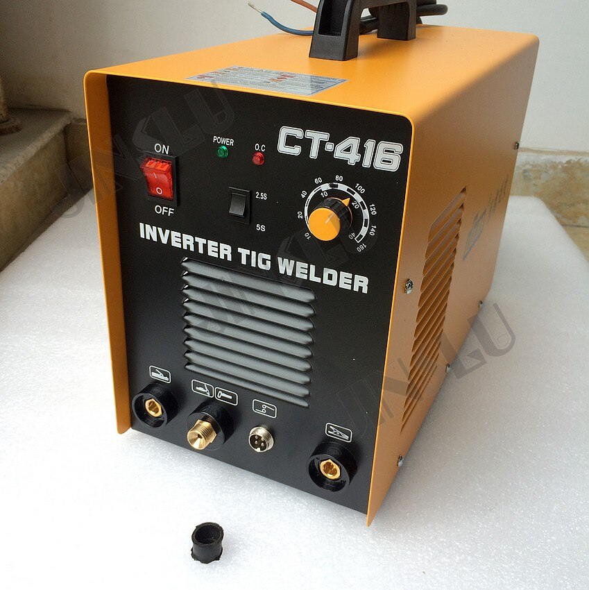 3 In 1 CT416 CT-416 TIG MMA Plasma Cutting Cutter Inverter DC welder welding machine with free accessories JINSLU SALE1