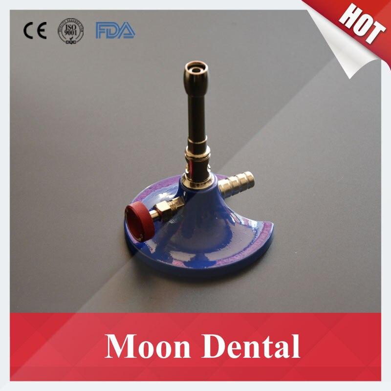 1 unidad de tubo único giratorio de Gas Dental luz Bunsen quemador de Gas luces para equipo Dental de laboratorio Dental