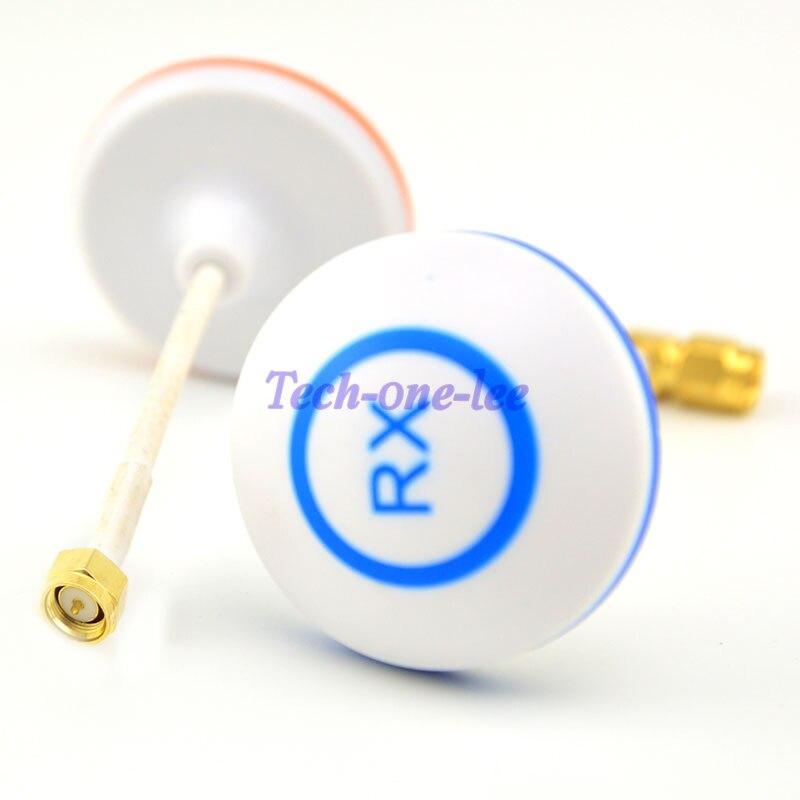 10 pçs/lote 5.8g cogumelo antena circular polarizada para 5.8 ghz bifrequência para fpv tx rx sma antena