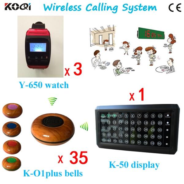 Wireless Restaurant Buzzer Call System