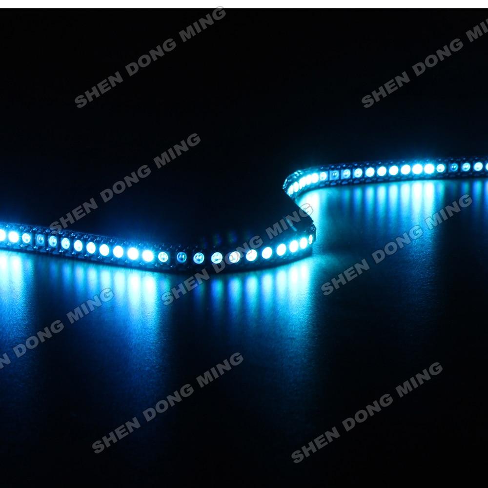1 M DC5V riband conduzida flexível 144 leds/m 144IC/m WS2812 embutido IC led pixel tira mutável cor RGB tira conduzida digital de 5050