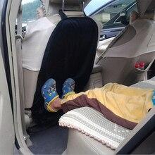 Protecteur de dos de siège dauto   Accessoires de voiture, tapis de pieds pour enfants, nettoyage de la boue, soins de voiture