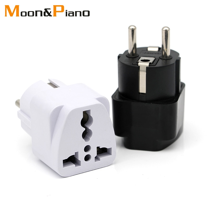 European EU Plug Adapter Japan China American Universal UK US AU To AC Travel Power Adapters Converter Electrical Charger