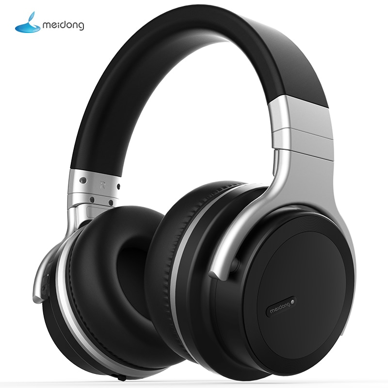Meidong E7MD PRO headset Bluetooth aktive noise cancelling-kopfhörer musik drahtlose telefon subwoofer headset