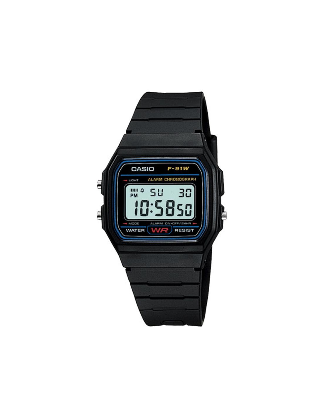 Casio reloj vintage F91W-1YER