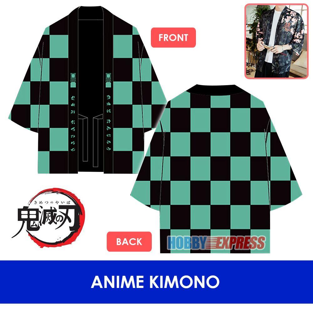 Hobby Express Anime japonés Kimetsu no Yaiba FGO DAL tradicional Yukata Kimono chaqueta del traje de Cosplay