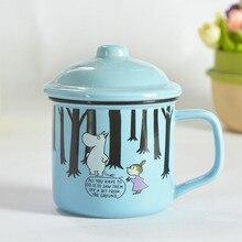 Mumin Finland 1PC 300ml Ceramic Creative Cartoon Milk Coffee Breakfast Mug Water Lovers Cup Caneca Moomin Cups And Canecas Mugs