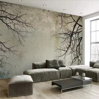 seamless wallpaper vintage twig sky tv background wall professional production mural factory wholesale wallpaper mural