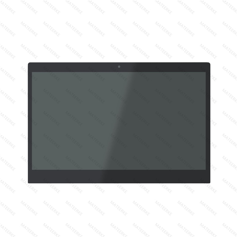 Pantalla LCD Diplay montaje de cristal frontal para Lenovo IdeaPad 710 S Plus-13IKB 80W3000KUS 80W30036UK 80W3003KFR