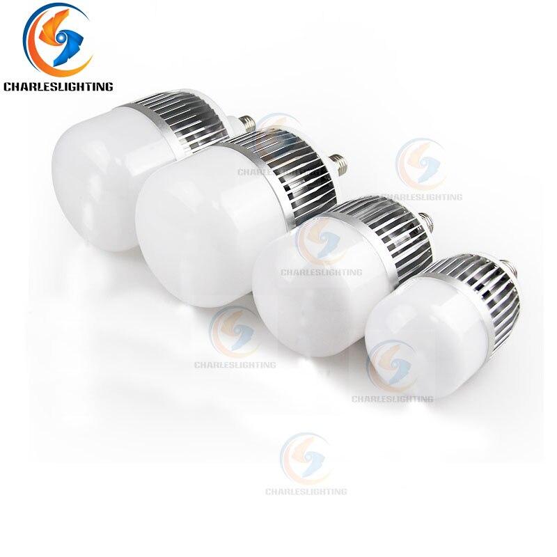 CHARLES AYDıNLATMA 2 Yıl Garanti LED Endüstriyel En Iyi Fiyat E27 Ampul 175-240 V 80 W/100 W /150 W LED lamba ampulü Ev Soğuk Beyaz
