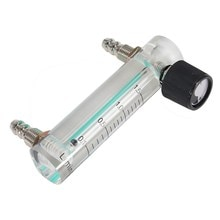 Sauerstoff Luftmassenmesser 0-1.5LPM 1.5L Durchflussmesser mit Regelventil für Oxygen Air Gas