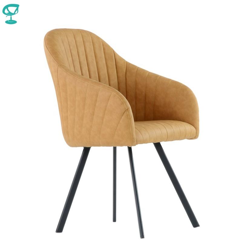 K99L1PuLightBrown Barneo K-99 Silla de salón Interior de piel ecológica muebles de cocina patas de metal marrón claro envío gratis en Rusia