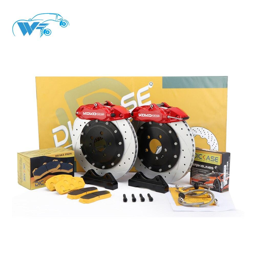 Piezas de Repuesto KOKO RACING, kit de freno de coche WT9200 para corvette c6 benz w204 chrysler Mitsubishi Montero