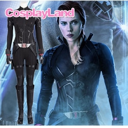 2019 avengers 4 final viúva negra cosplay traje feminino halloween carnaval festa viúva negra vingadores 4 super-herói personalizado