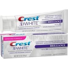 Crête 3D blanc brillant émail sûr blanchiment des dents dentifrice envoûtant saveur de menthe 4.1 Oz