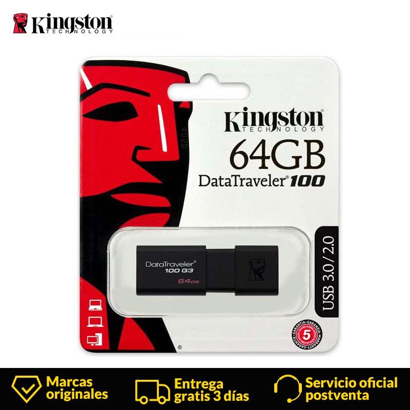 Kingston USB Flash Drive pendrive 32GB GB 64 16GB 128GB Data Traveler 256GB USB 3.0 flash Memory stick usb DT100G3