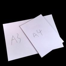 Ücretsiz kargo A4 ve A3 beyaz kopra kağidi 80g 70g saf odun hamuru baskı kağıdı ofis malzemeleri kırtasiye kopra kağidi